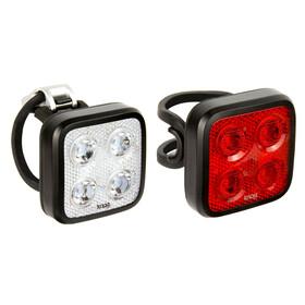 Knog Blinder MOB Four Eyes Bike Lights Sets TwinPack black
